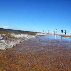 Hiekkasärkkien Rantareitti kulkee Kalajoen upeissa maisemissa aivan meren äärellä.