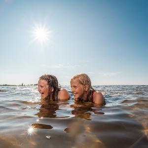 Kalajoen hiekkasärkillä nauttii koko perhe