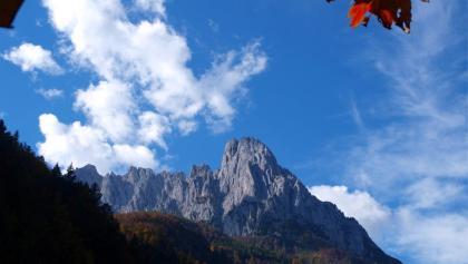 Rückblick vom Griesener Tal
