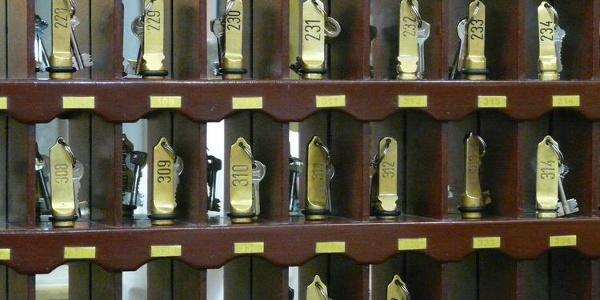 Zimmerschlüssel Platzhalter