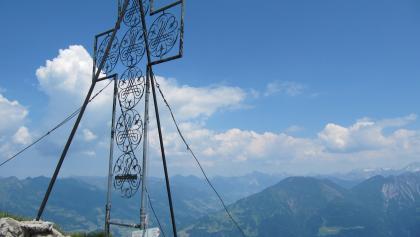 Das schöne Gipfelkreuz
