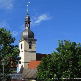Vom Seegarten zum Kirchturm