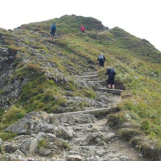 Gipfelweg Fellhorn 2038 Meter