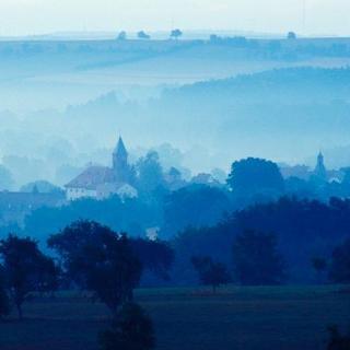 Kloster Hornbach aus der Ferne