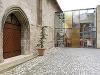 Eingang der Johanniterkirche in Schwäbisch Hall   - © Quelle: Würth