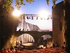 Bühne der Burgschauspiele Leofels in der Ruine   - © Quelle: Antje Kunz