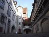Innnenhof und Sitz der Touristikinformation - Altes Schloss Gaildorf   - © Quelle: Antje Kunz