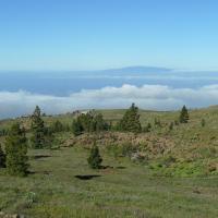 im Hintergrund La Gomera
