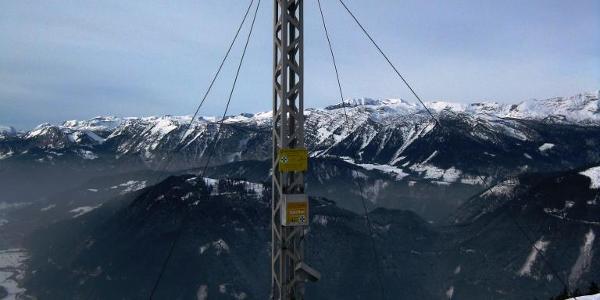 Gipfelkreuz am Dürrenschöberl 1737 mtr.