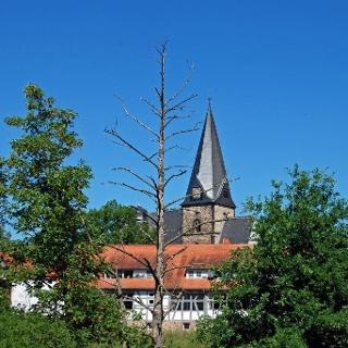 Die evangelische Stadtkirche von Hungen