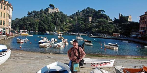 Im Hafen von Portofino