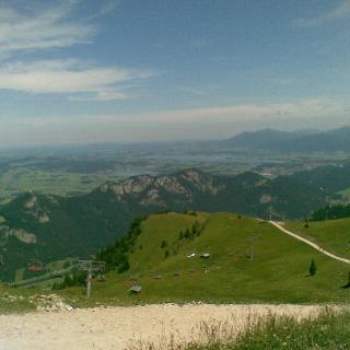 Blick vom Breitenberg