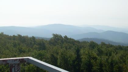 Blick aufs Eulengebirge (Aug. 2011)