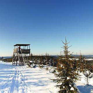 Aussichtsplattform auf dem Zaječí Hora