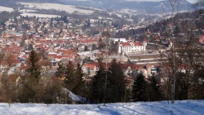Blick vom Vorderen Grasberg auf Schmalkalden