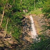 Bei den Schleifenbachwasserfällen