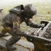 Skulptur in Burgberg