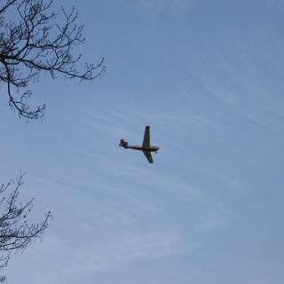 Flieger am Haxterberg