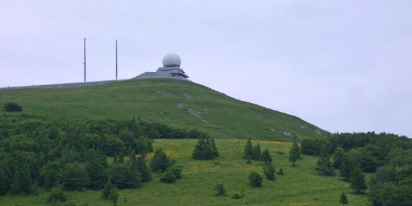Gipfel des Grand Ballon