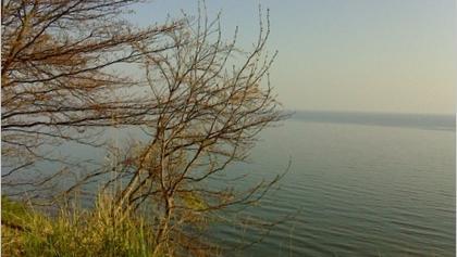Blick von der Steilküste zur Ostsee