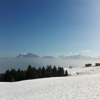 Aufstieg zur Lustenauer Hütte