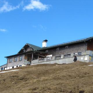 Wank Gipfelkreuz, Wank Haus