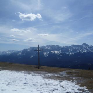 Gipfelkreuz Wank