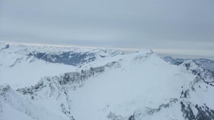 Blick vom Hählekopf Richtung Diedamskopf