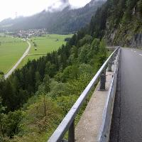 Auffahrt zum Dach der Tour