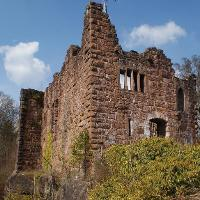 Die Nippenburg (Burgruine Hohenschramberg)
