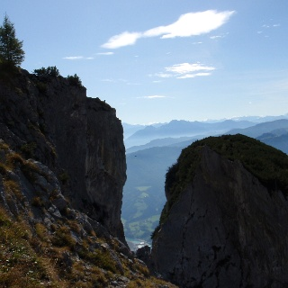 Am Hochkogelsteig um 1700 m