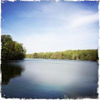 Schöner Start am Pipersee, schönes Ankommen auch