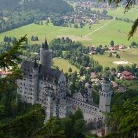 Ausblcik auf Schloss Neuschwanstein