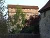 Blick auf die Burg Amlishagen vom Wehrgang aus   - © Quelle: Antje Kunz