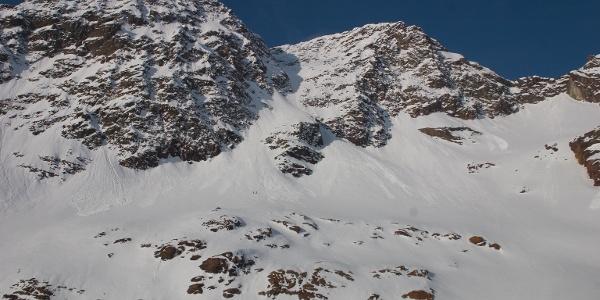 Die Nordrinne zur Vorderen Eggenspitze. Ein anspruchsvolles Skitourenziel