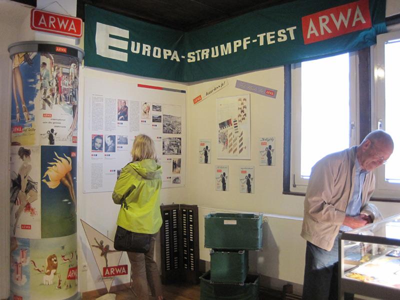 Die ARWA-Strumpfwerke war eine der größten Strumpfwarenhersteller in Deutschland und hat das Werden des Limpurger Landes in der Nachkriegszeit mitgeprägt.   - © Quelle: Stadt Gaildorf