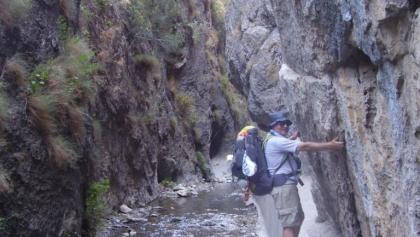 Engstelle in den Cahorros de Monachil