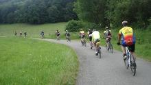 Strecke Juni 2014 Radtour Albverein Schrozberg - 2 Tages-Gruppe SONNTAG