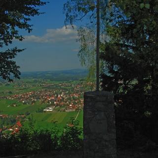 Denkmal und Aussicht