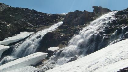Wasserfall Chorreras Negras im Frühjahr