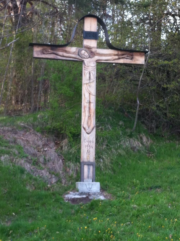 Holzkreuz von 1994 (Antonie Schmid)