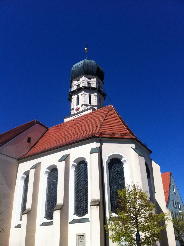 Die Stadtpfarrkirche Mariae Himmelfahrt in Schongau. (Antonie Schmid)