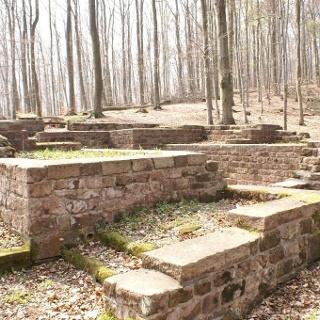 Überreste des Tschiffliker Pavillons