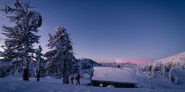 Skitour am Dobratsch