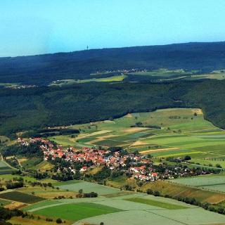 Luftbildaufnahme von Braunweiler,Dorf Totale 1.jpg