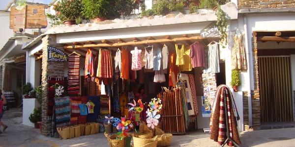 Andenkenladen in Capileira