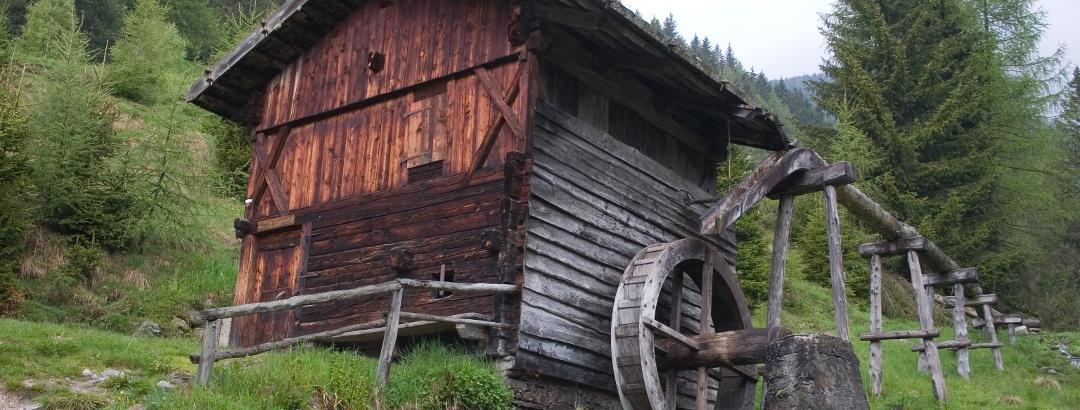 Die berühmten Kornmühlen