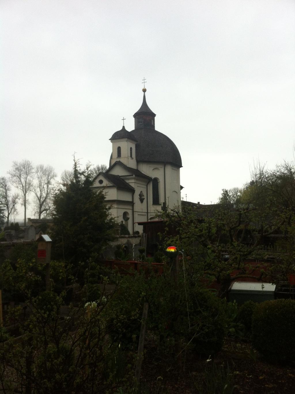 Katholische Friedhofskapelle St. Karl Borromäus oder Heilig-Kreuz-Kapelle (Antonie Schmid)