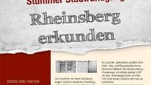 Stummer Stadtrundgang, Rheinsberg