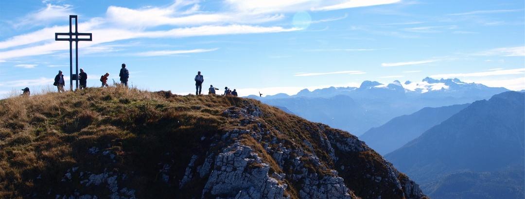 Loserkreuz vom Nordgipfel 1837 m